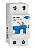 Автоматический выключатель с УЗО 1+нейтраль 25А 30мА