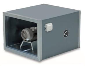 Канальный вентилятор NVS 23 (Трехфазный двигатель)