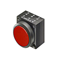 Кнопка красная, без фиксации
