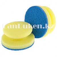 Губки для посуды с тефлоновым покрытием, круглые 95х50 мм 2 шт ELFE 92361 (002)