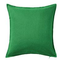 Чехол на подушку 50х50 ГУРЛИ зеленый ИКЕА, IKEA , фото 1