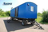 Вагон-дом на прицеп-шасси ТОРОС для проживания восьми человек