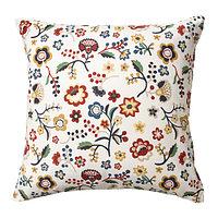 Чехол на подушку 50х50 БРУНЭРТ разноцветный ИКЕА, IKEA , фото 1