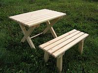 Скамья со столом