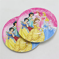 """Бумажные тарелки Принцесса  """"10 шт"""""""