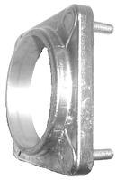 Алюминиевый сварной фланец с крепежом