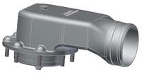 """Пневматический клапан пароотвода 3"""" для крышки инспекционного люка"""