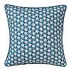 Чехол на подушку 50х50 ЛЕВКОЙ синий ИКЕА, IKEA