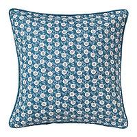 Чехол на подушку 50х50 ЛЕВКОЙ синий ИКЕА, IKEA , фото 1