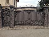 Кованные ворота и заборы, фото 2