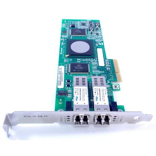 KC184 Сетевой Адаптер Dell (Qlogic) QLE2462-DELL PX2510401 2x4Гбит/сек Dual Port Fiber Channel HBA LP PCI-E4x