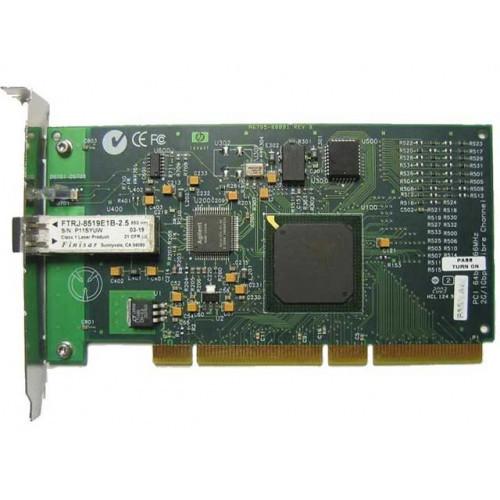 A6795A Сетевой Адаптер HP Tachyon XL2 HPFC-5200C/2.2 Fibre Channel Adapter 2Гбит/сек Single Port Fiber Channel HBA LC PCI/PCI-X