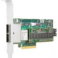 443999-001 Контроллер HP Smart Array E500/256MB RAID 0/1+0 (8 link: 2 ext (SFF8088) x4 wide port Mini-SAS connectors SAS) PCI-E
