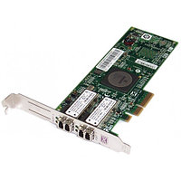 43W7512 Сетевой Адаптер IBM (Emulex) LPE11002 FC1120005-01C L2B2777 2x4Гбит/сек Dual Port Fiber Channel HBA LP PCI-E4x