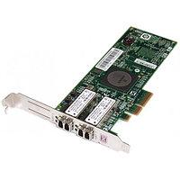 43W7512 Сетевой Адаптер IBM (Emulex) LPE11002 FC1120005-01C L2B2777 2x4Гбит/сек Dual Port Fiber Channel HBA LP PCI-E4x