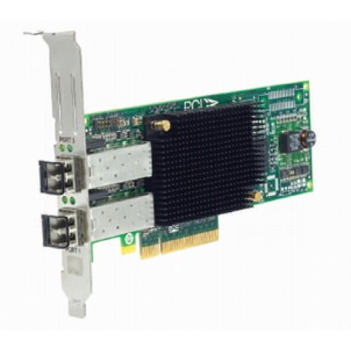 43W7511 Сетевой Адаптер IBM (Emulex) LPE11002 FC1120005-01C L2B2777 2x4Гбит/сек Dual Port Fiber Channel HBA LP PCI-E4x