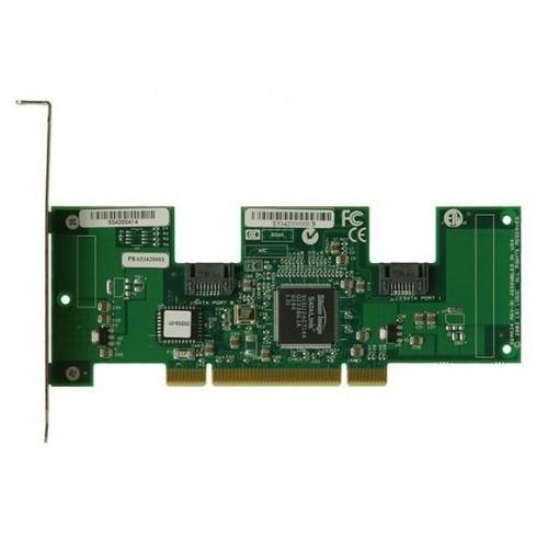 46M0830 Контроллер SAS RAID IBM ServeRAID M5025 [LSI Logic] MegaRAID SAS 9280-8e CPU XOR PowerPC 800Mhz 512Mb Ext-2xSFF8088 8xSAS/SATA RAID50 U600