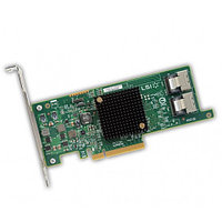 9261-8I LSI 8-Port Int, 6Gb/s SAS, Pcle 2.0 8X HBA; RAID0/1/10/5/6; 512M