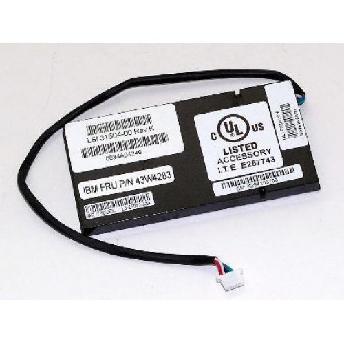 44E8826 Батарея (BBU) IBM [LSI Logic] RAID Smart Battery для ServeRAID MR10i MR10m M5015