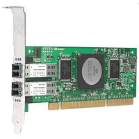 QLA2462-CK Qlogic 4Gb Dual Port FC HBA, PCI-X 2.0, LC multi-mode optic