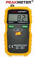 Цифровой термометр Peakmeter PM6501