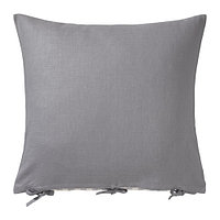 Чехол на подушку 65х65 УРСУЛА серый ИКЕА, IKEA