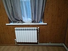 Монтаж котла Rinnai  в доме 90 м2 г.Каскелен 4