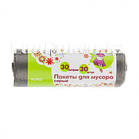 Пакеты для мусора 30 л, серые 30 шт ELFE 92703 (002)