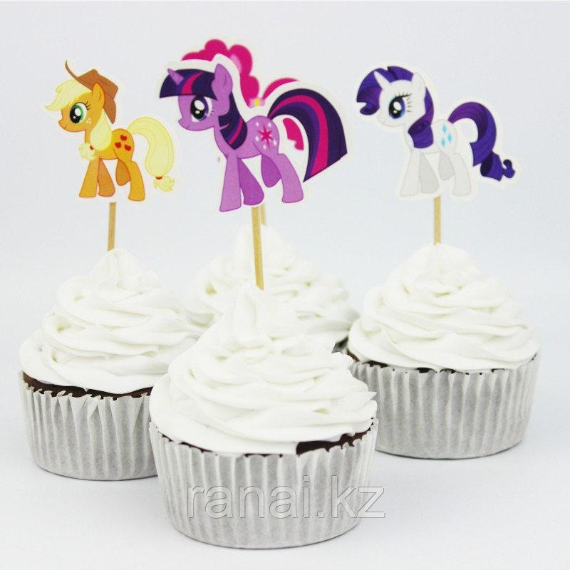 """Шпажки на день рождения """"Пони"""""""