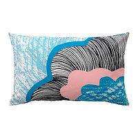 Чехол на подушку 40х65 ДОФТРЭНКА разноцветный ИКЕА, IKEA  , фото 1