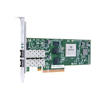 QLE8242-SR-CK Qlogic Dual-port 10GbE Ethernet to PCIe Converged Network Adapter with SR optical transceivers