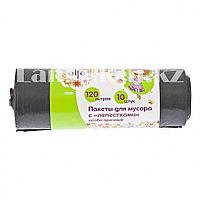 Пакеты для мусора с лепестками 120 л, особопрочные 10 шт ELFE 92731 (002)