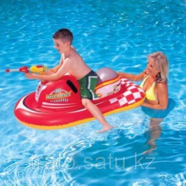 Детский надувной скутер Bestway 41071 с водным пистолетом  140х84 см
