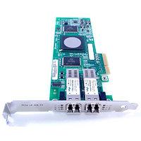 DH226 Сетевой Адаптер Dell (Qlogic) QLE2462-DELL PX2510401 2x4Гбит/сек Dual Port Fiber Channel HBA LP PCI-E4x
