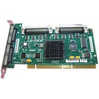 D9205 Контроллер RAID SCSI Dell PERC4/DC PCBX518-B1 LSI53C1030/Intel XScale IOP321 128Mb(256Mb) Int-2x68Pin Ext-2x68Pin RAID50 UW320SCSI PCI-X For