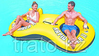 Bestway Надувной шезлонг для отдыха на воде для двоих 259 x 135 cm