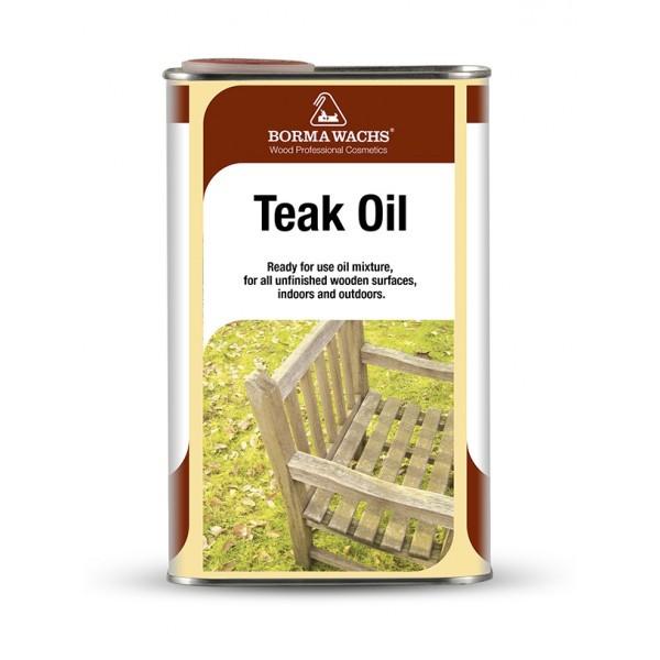 Масло тиковое Borma Teak Oil, 500 мл