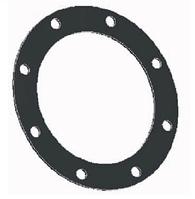 """Круглая прокладка 4"""" с 8 отверстиями NBR внешний диаметр 21 см"""