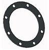 """Круглая прокладка 4"""" с 8 отверстиями из Витона внешний диаметр 21 см"""