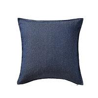 Чехол на подушку 50х50 ОРМКАКТУС классический синий ИКЕА, IKEA , фото 1