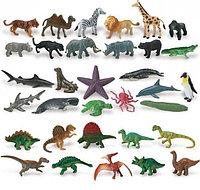 Фигурки животных, динозавров, ...