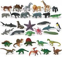 Фигурки животных, динозавров, насекомых