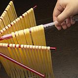 Marcato Design Tacapasta Rosso сушилка для лапши, пасты, макарон и длинных макаронных изделий, красная, фото 2