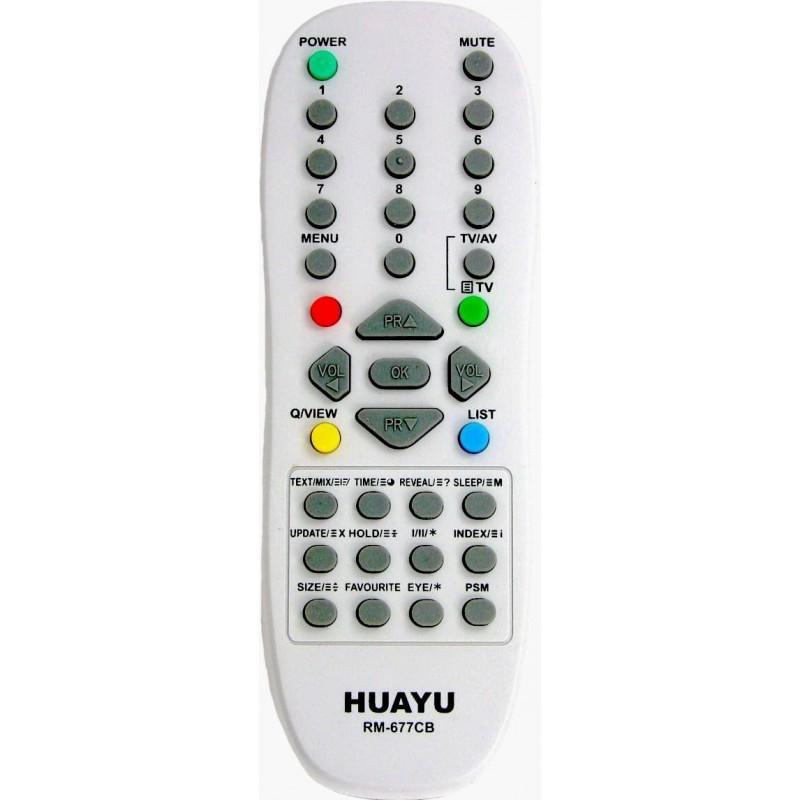 Универсальный пульт для TV LG RM-677CB (HUAYU)