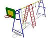 Детский Гимнастический комплекс -4 для улицы Размеры: 6500х1585х2910мм