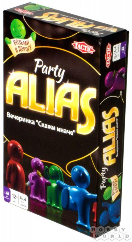 Компактная игра: ALIAS: Party (Скажи иначе: Вечеринка-2)