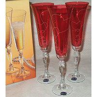 Бокалы свадебные для шампанского Victoria 180мл шампанское 6шт 40727-K0111-180. Алматы