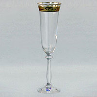 Фужеры свадебные для шампанского Angela love 190мл шампанское 2шт 40600-C5775-190. Алматы