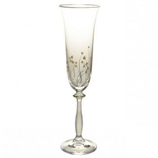 Фужеры свадебные для шампанского Angela love 190мл шампанское 2шт 40600-C5776-190. Алматы
