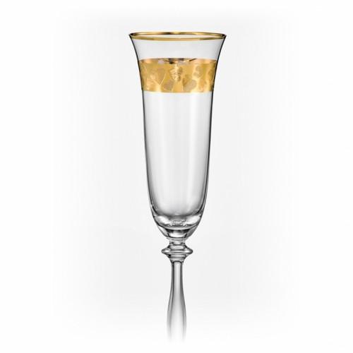 Фужеры свадебные для шампанского Angela love 190мл шампанское 2шт 40600-Q8184-190. Алматы